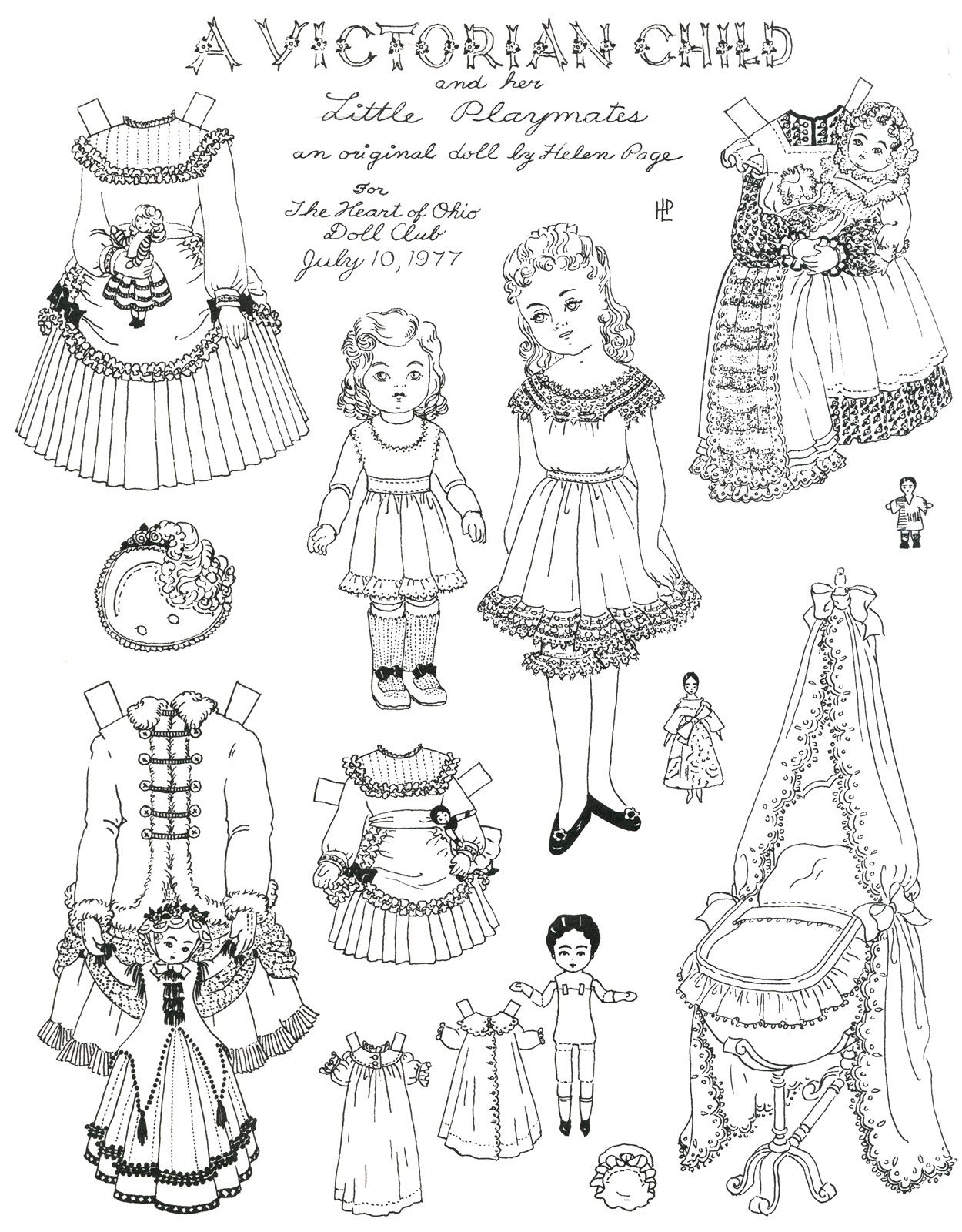 Kids Victorian Clothes Vintage And Children 2 Ripping Free Printable - Printable Paper Dolls To Color Free