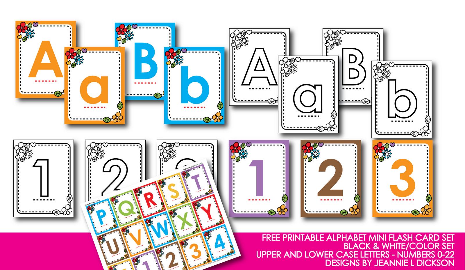 Kindergarten Alphabet Cards | Free Printable Alphabet Mini Flash - Free Printable Lower Case Letters Flashcards