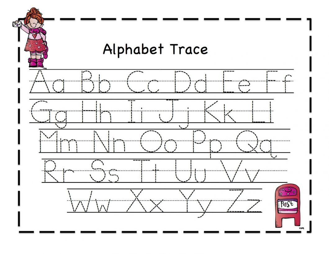 Kindergarten Alphabet Worksheets – With Letter S For Preschool Also - Free Printable Alphabet Tracing Worksheets For Kindergarten