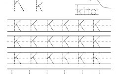 Kindergarten Letter K Writing Practice Worksheet Printable – Free Printable Letter K Worksheets