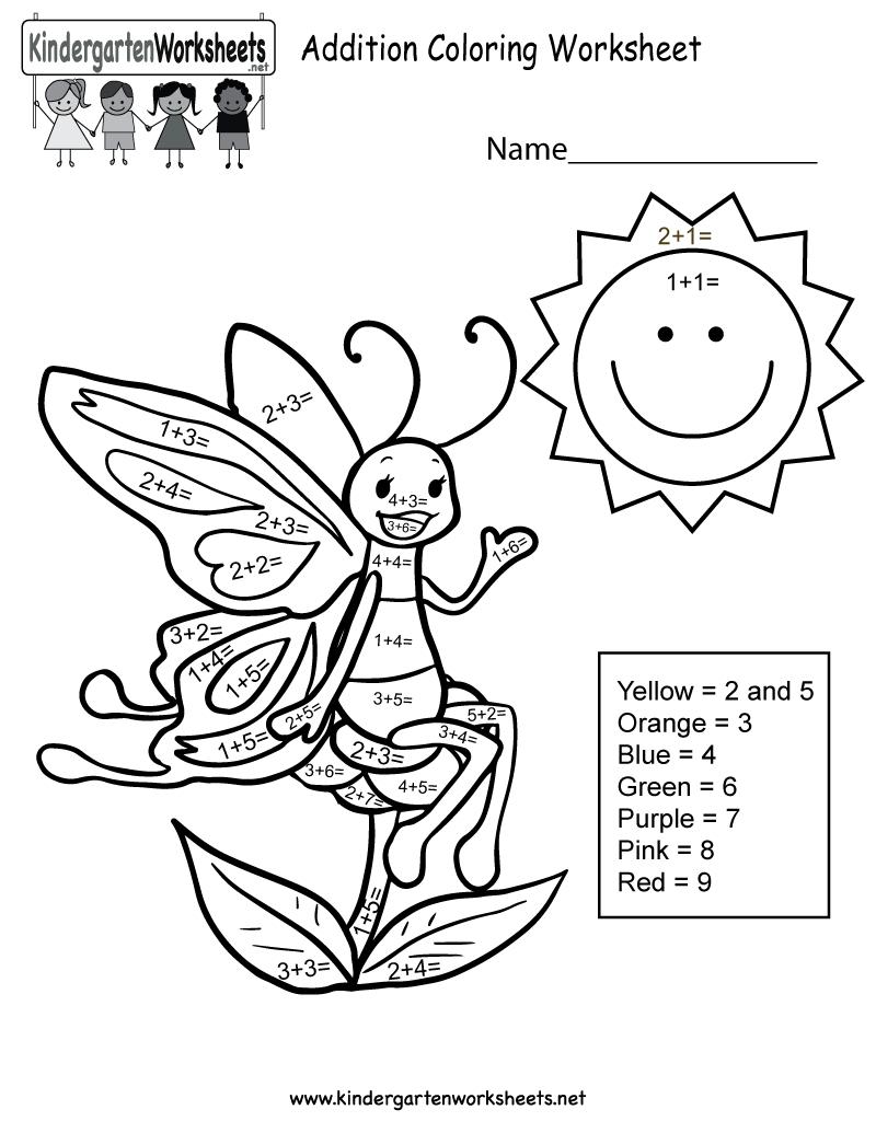 Kindergarten Math Printable Coloring Pages - 18.17.kaartenstemp.nl • - Free Printable Math Coloring Sheets