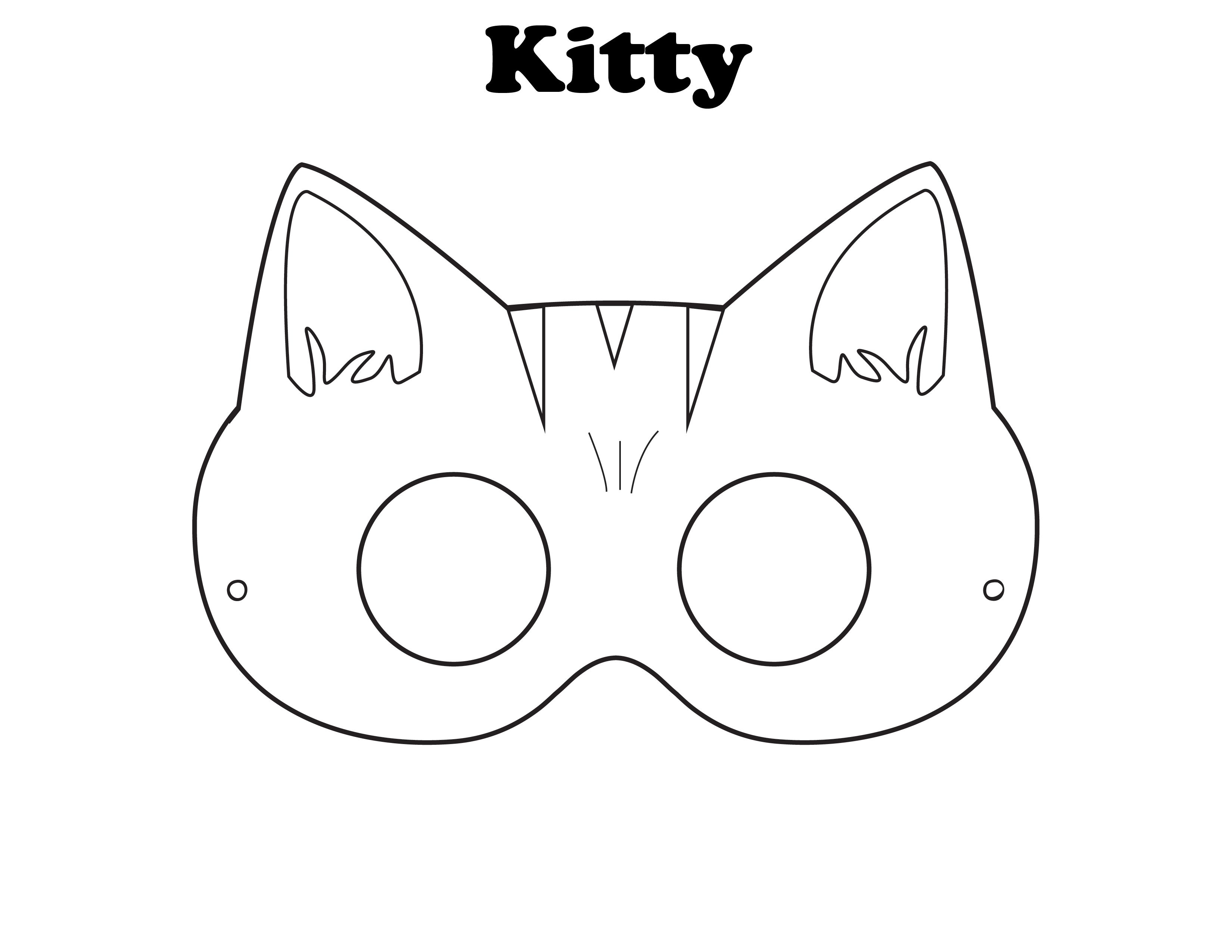 picture relating to Printable Fox Mask identify Absolutely free Printable Fox Mask Template No cost Printable Obtain