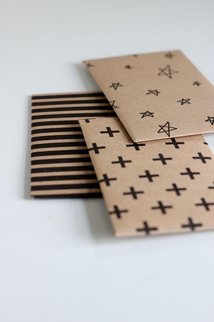 Kraft Paper Gift Card Envelope Free Printable   Crafty   Pinterest - Free Printable Gift Card Envelope Template
