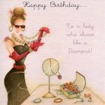 Ladies Birthday Collection  Berni Parker. Discussion On   Free Printable Russian Birthday Cards