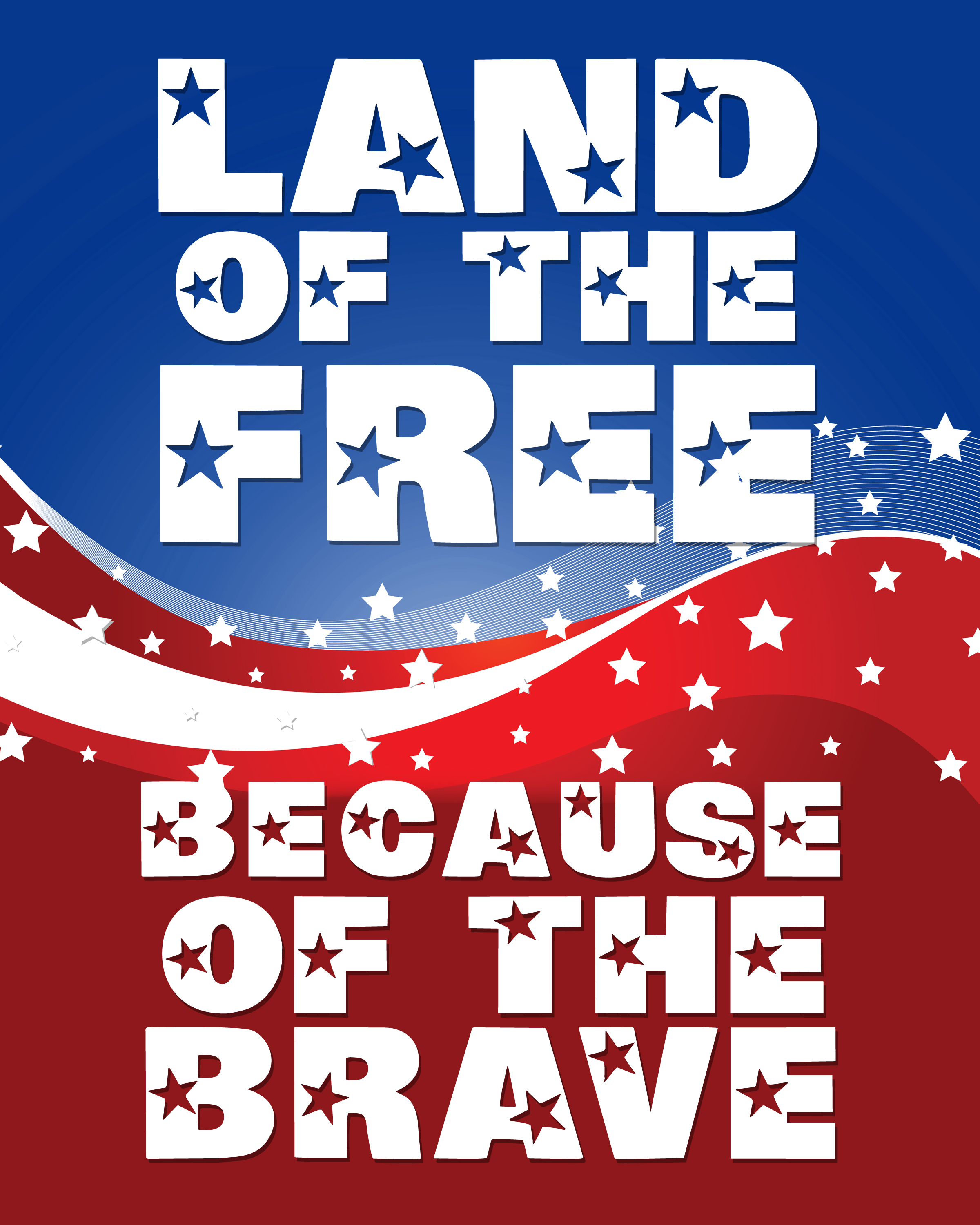 Land Of The Free Because Of The Brave - The Abduction Of Wendy - Home Of The Free Because Of The Brave Printable