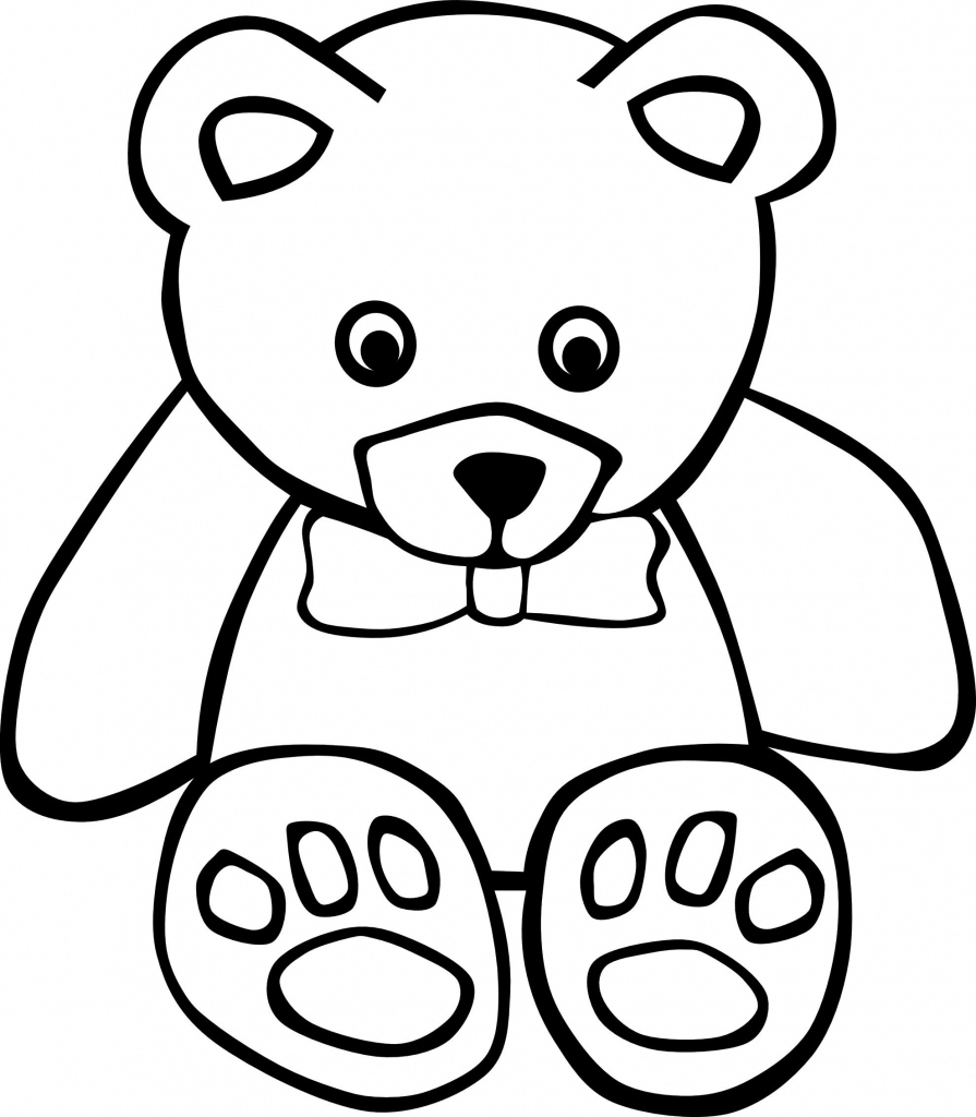 Languages Free Printable Teddy Bear Coloring Pages For Kids | Kids - Teddy Bear Coloring Pages Free Printable