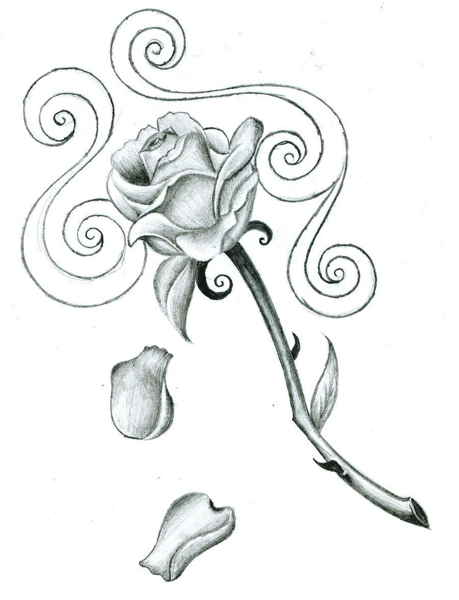 Large Free Printable Tattoo Designs | Free Download Rose Tattoo - Free Printable Tattoo Designs