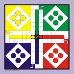 Large Outside Game Board & Pieces   Ludo | Games | Outside Classroom   Free Printable Ludo Board