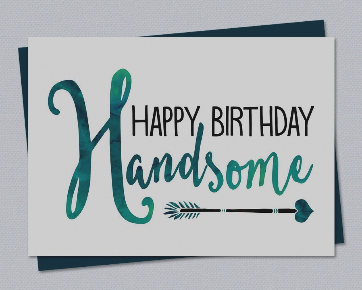 Latest Free Printable Birthday Cards For Him Card Husband Happy - Free Printable Birthday Cards For Him