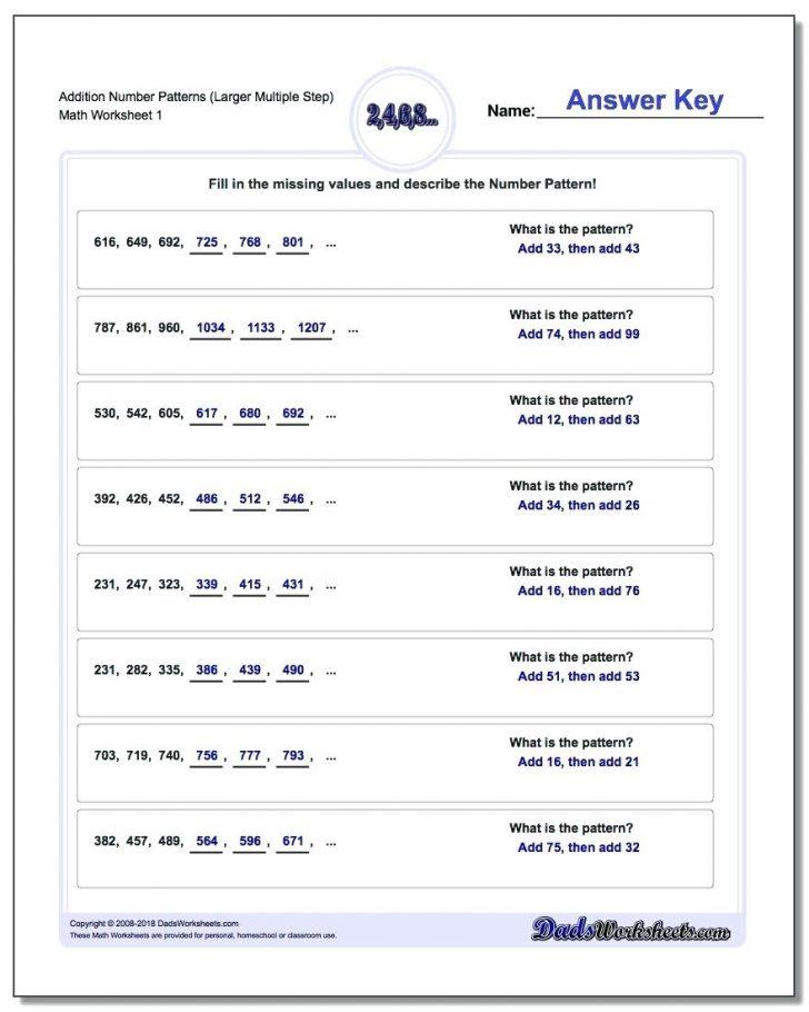 Free Printable Lcm Worksheets