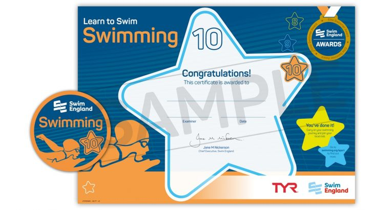 Free Printable Swimming Certificates For Kids
