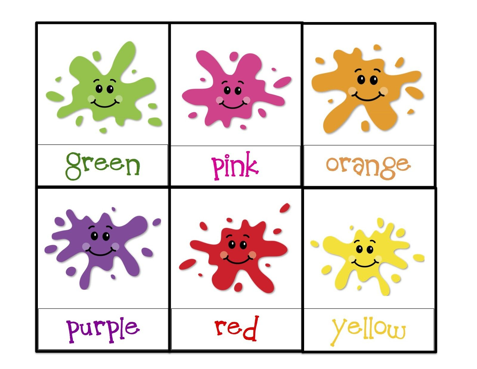 Learning Colors Printable | Children's Activities | Pinterest - Color Recognition Worksheets Free Printable