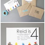 Lego Birthday Party #2 And More Free Printables!   Lego Party Invitations Printable Free