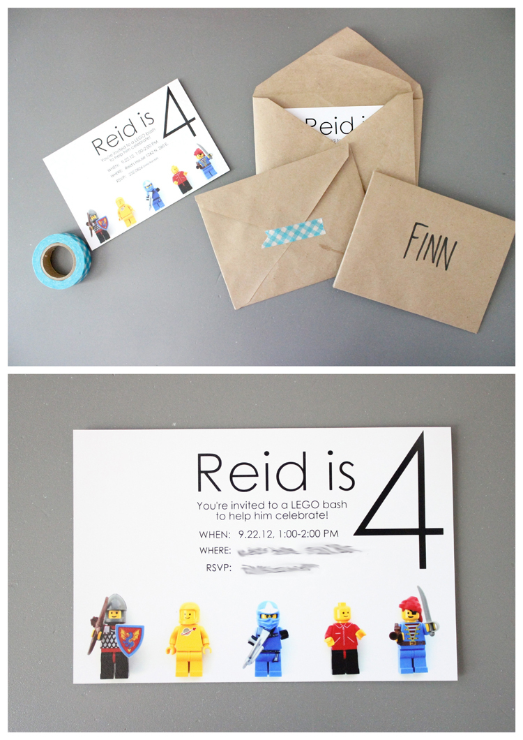 Lego Birthday Party #2 And More Free Printables! - Lego Party Invitations Printable Free