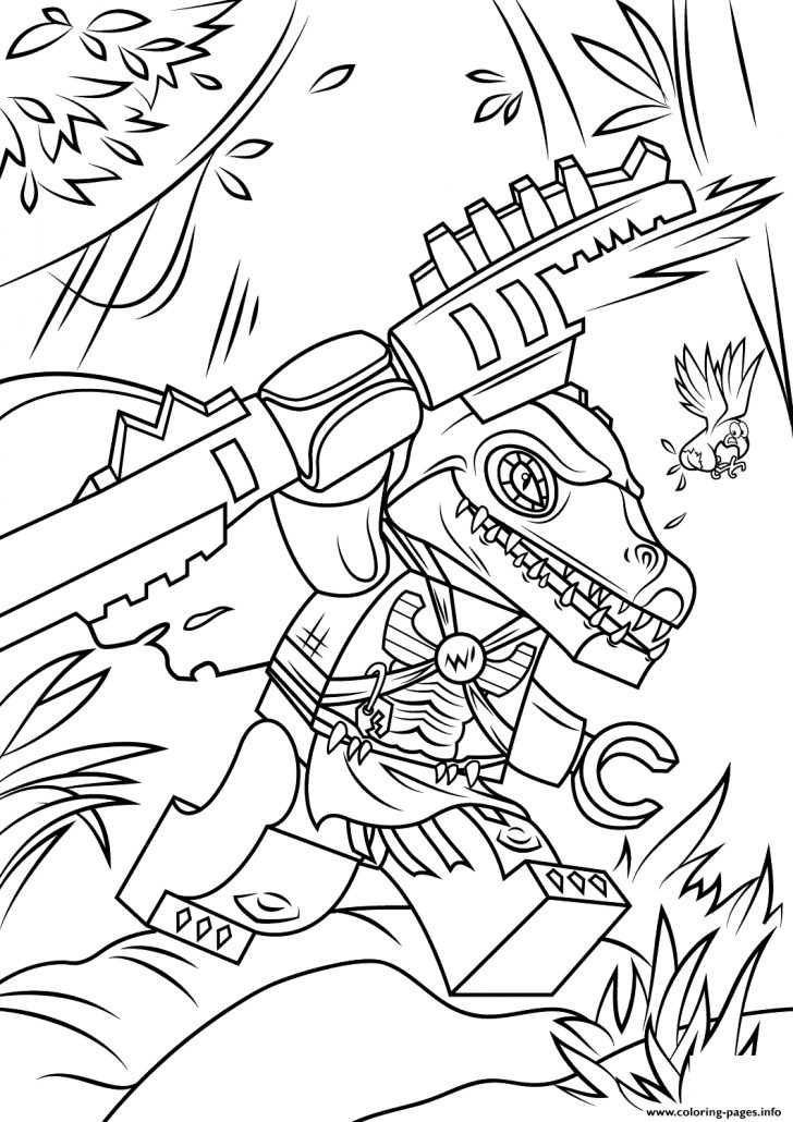 Free Printable Lego Chima Coloring Pages