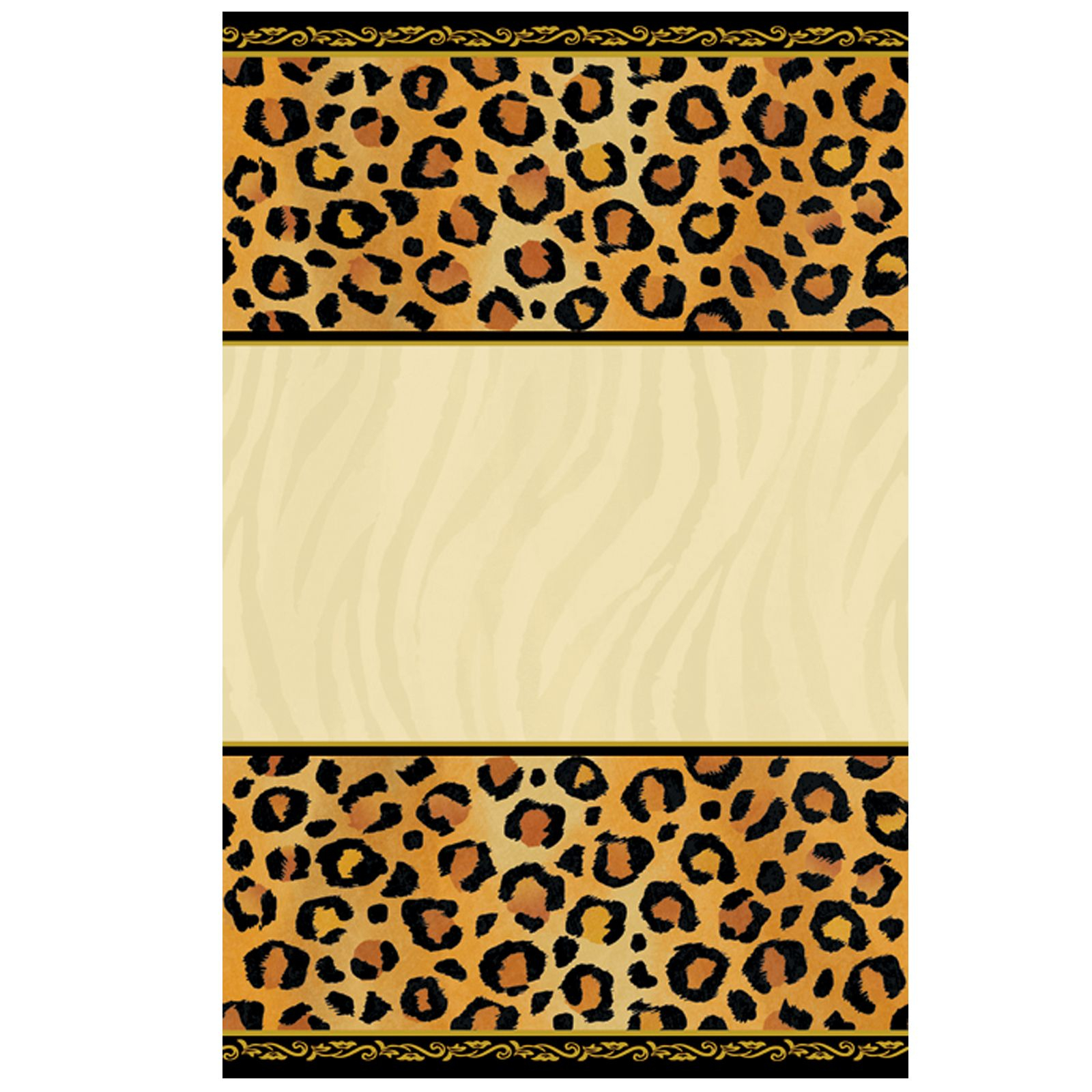 Leopard Print Invitations Printable Free Cakepins | Printables - Free Printable Animal Print Birthday Invitations