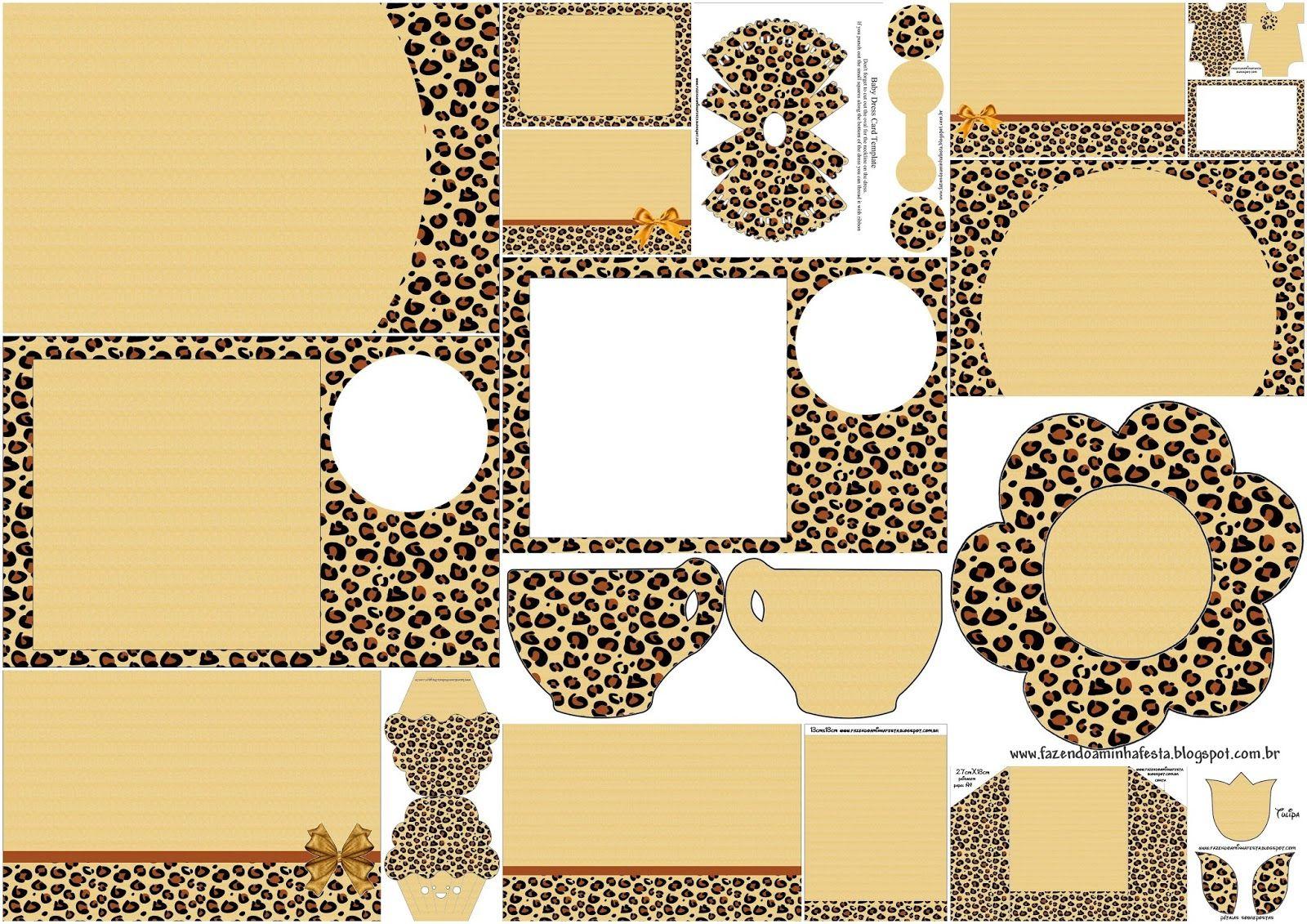 Leopard Prints: Free Printable Invitation. | Birthday Party Ideas - Free Printable Animal Print Birthday Invitations