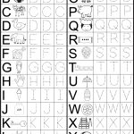 Letter Tracing Worksheet | Printable Worksheets   Free Printable Alphabet Worksheets For Grade 1