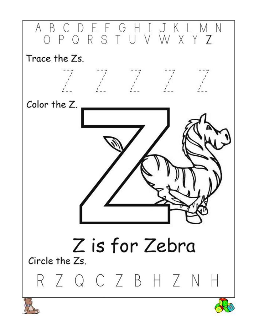 Letter Z Worksheets Printable | Reading // Sight Words | Pinterest - Letter Z Worksheets Free Printable
