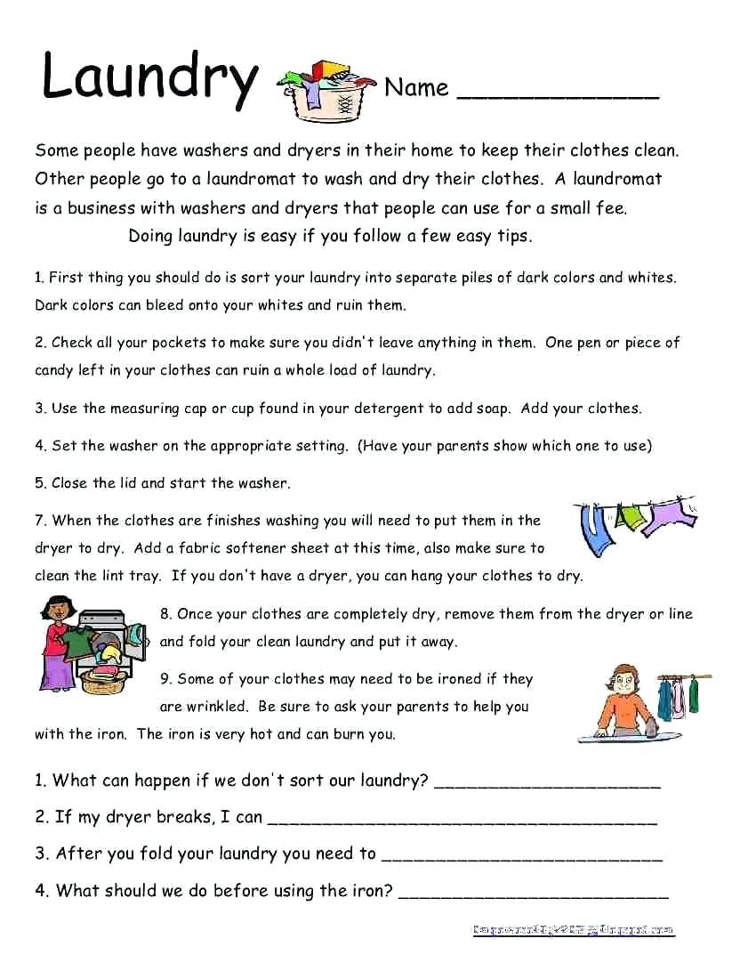 Life Skills Worksheets – Karyaqq.club - Free Printable Life Skills Worksheets For Adults