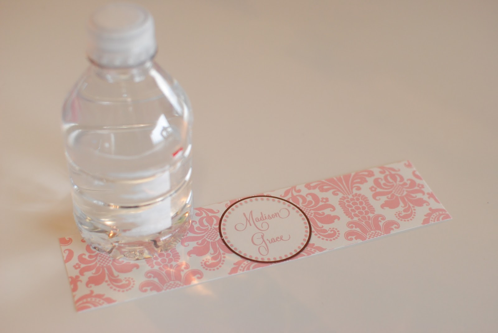 Life {Sweet} Life: Diy Printable Water Bottle Labels - Free Printable Water Bottle Label Template