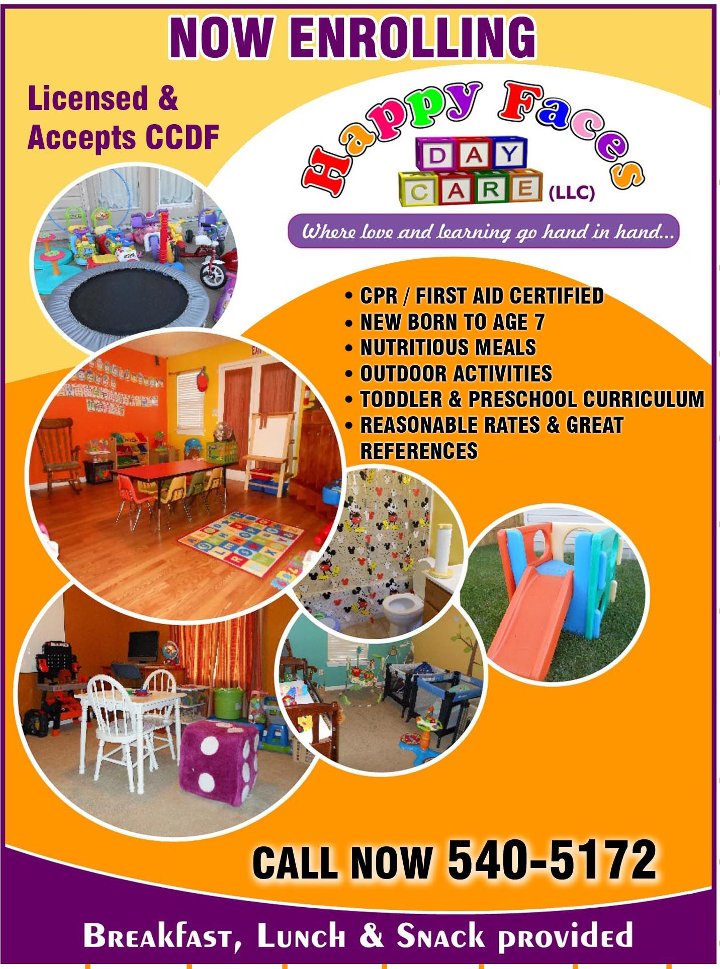 Like Space Bubbles | Home Daycare | Pinterest | Home Childcare - Free Printable Home Daycare Flyers