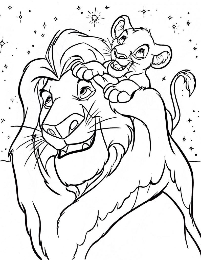 Lion King Coloring Pages   Disney Coloring Pages   Disney Coloring - Free Printable Disney Coloring Pages