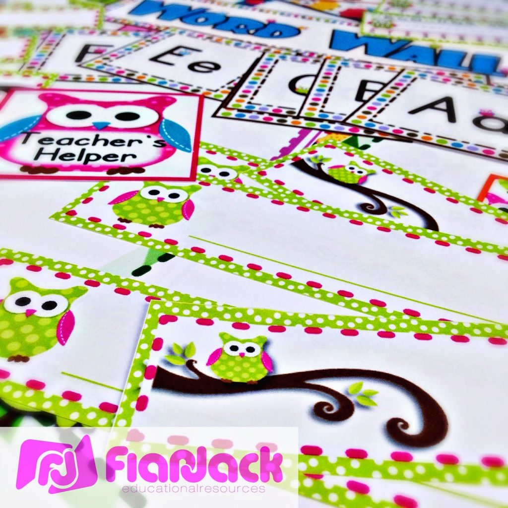 Lots Of Owls Classroom Theme Freebies, Ideas, & Pack - Flapjack - Free Printable Owl Bookmarks