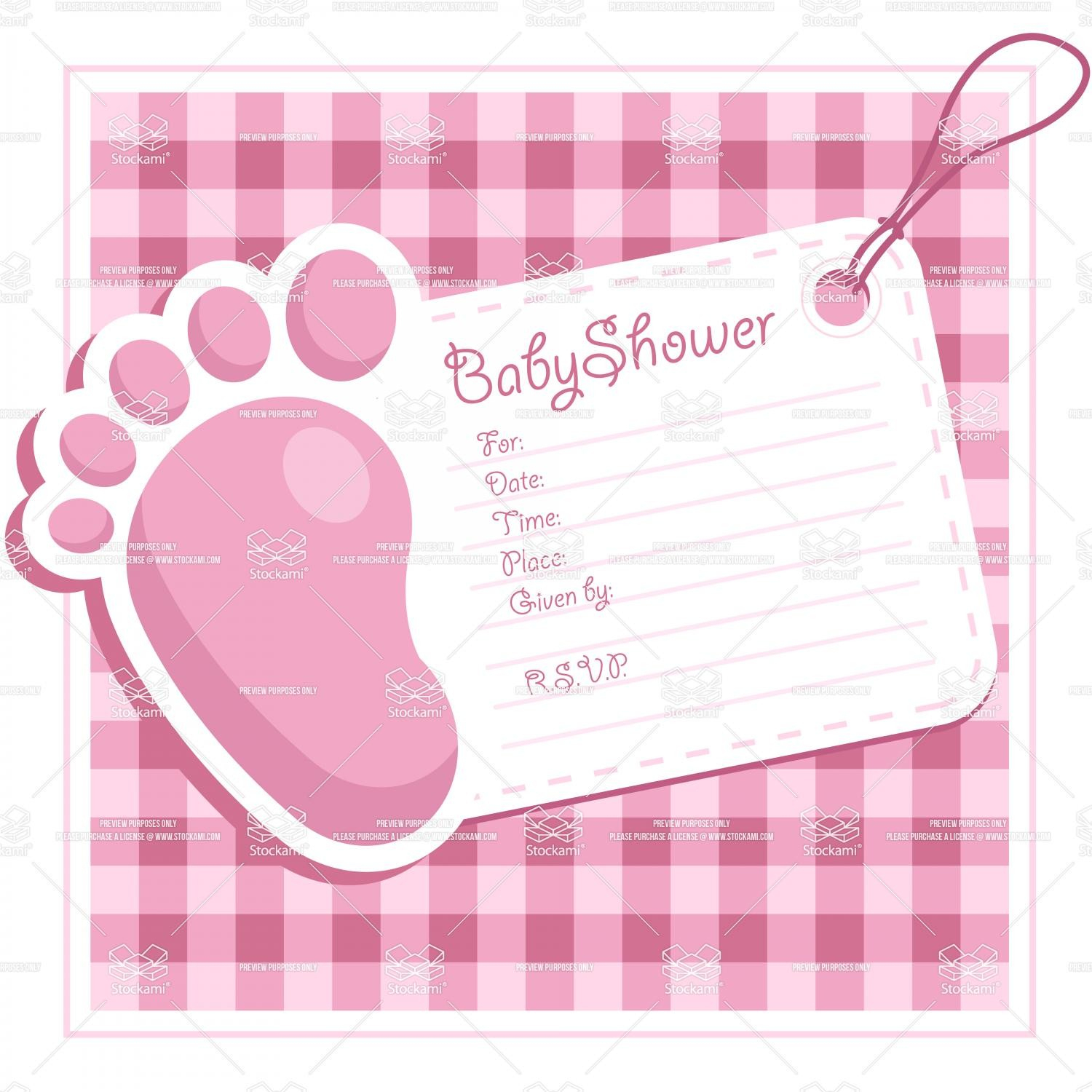 Lovely Free Printable Baby Shower Invitations For Girls Pink And - Free Printable Princess Baby Shower Invitations