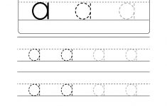 Lowercase Letter Tracing Worksheets (Free Printables) – Doozy Moo – Free Printable Alphabet Letters Upper And Lower Case