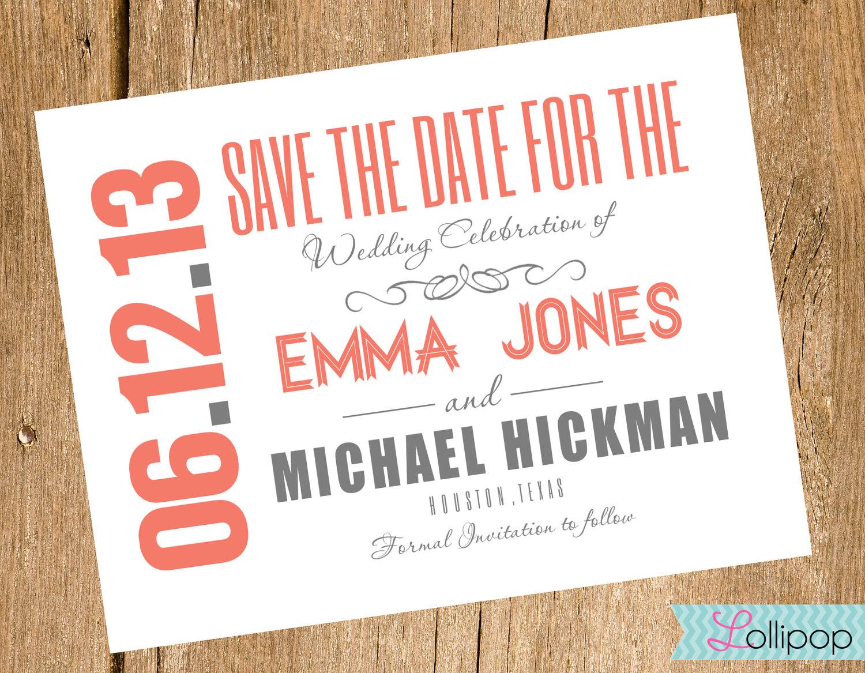 Lpc Save The Date Luxury Free Printable Save The Date Invitation - Free Printable Save The Date