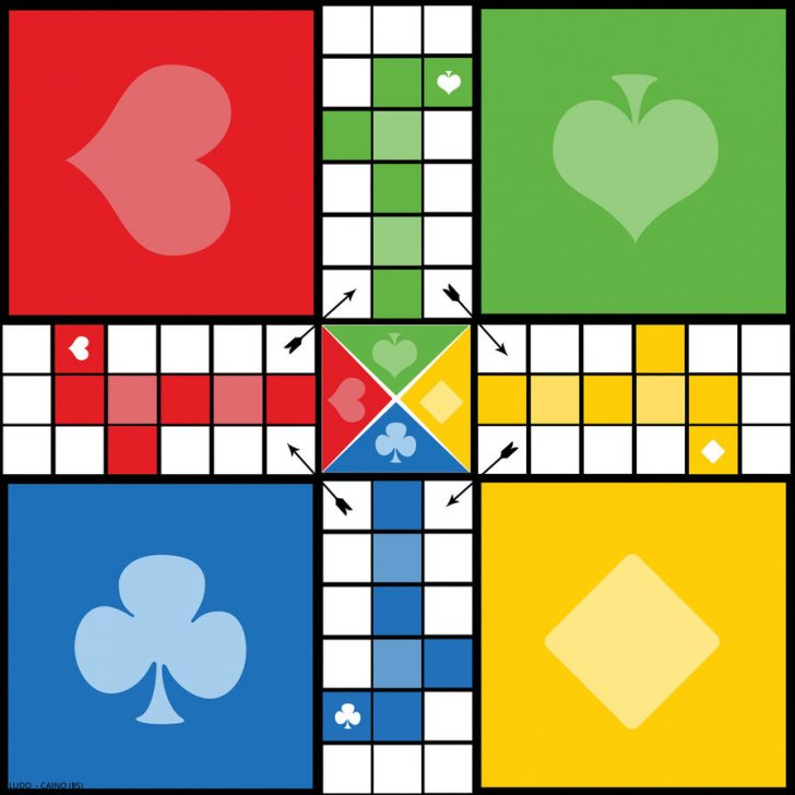 Free Printable Ludo Board