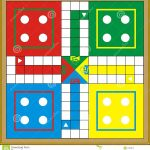 Ludo Print & Gift Or Play Stock Illustration. Illustration Of   Free Printable Ludo Board