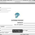 Make A Catering (Food) Service Invoice | Pdf | Word | Excel – Youtube – Free Printable Catering Invoice Template