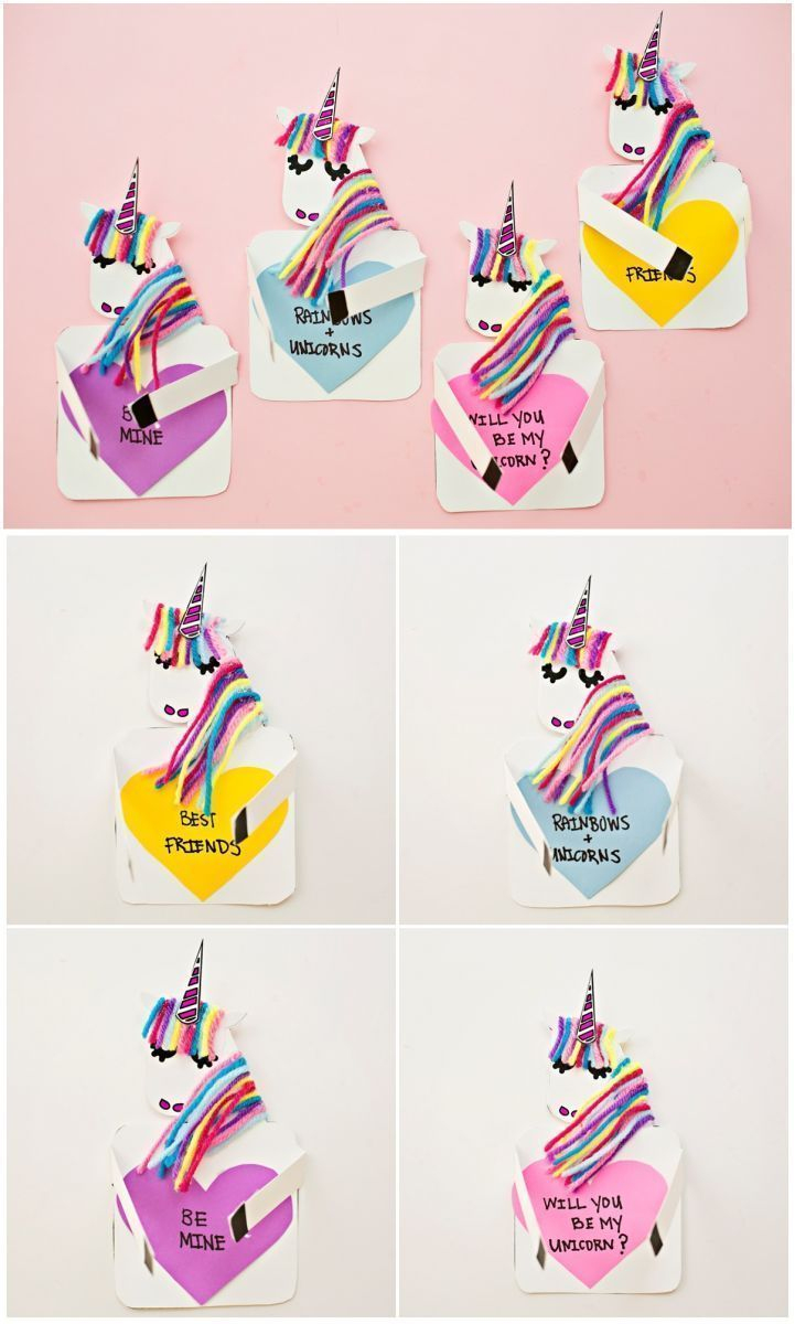 Make A Unicorn Love Card With Free Printable | Printable | Pinterest - Free Printable Special Occasion Cards
