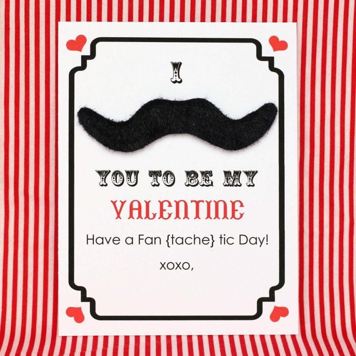 Free Printable Mustache