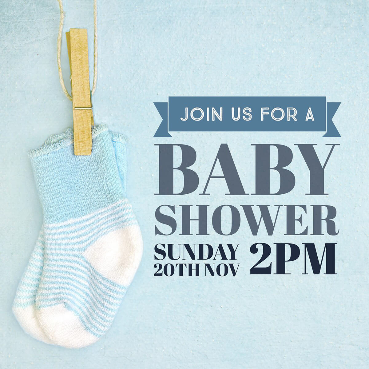 Make Your Own Baby Shower Invitations For Free | Adobe Spark - Baby Shower Cards Online Free Printable