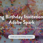 Make Your Own Birthday Invitations For Free | Adobe Spark   Make Your Own Birthday Party Invitations Free Printable