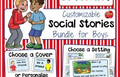 Free Printable Social Stories Making Friends