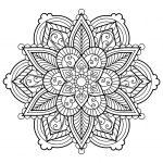 Mandala From Free Coloring Books For Adults 28   M&alas Adult   Free Printable Mandalas