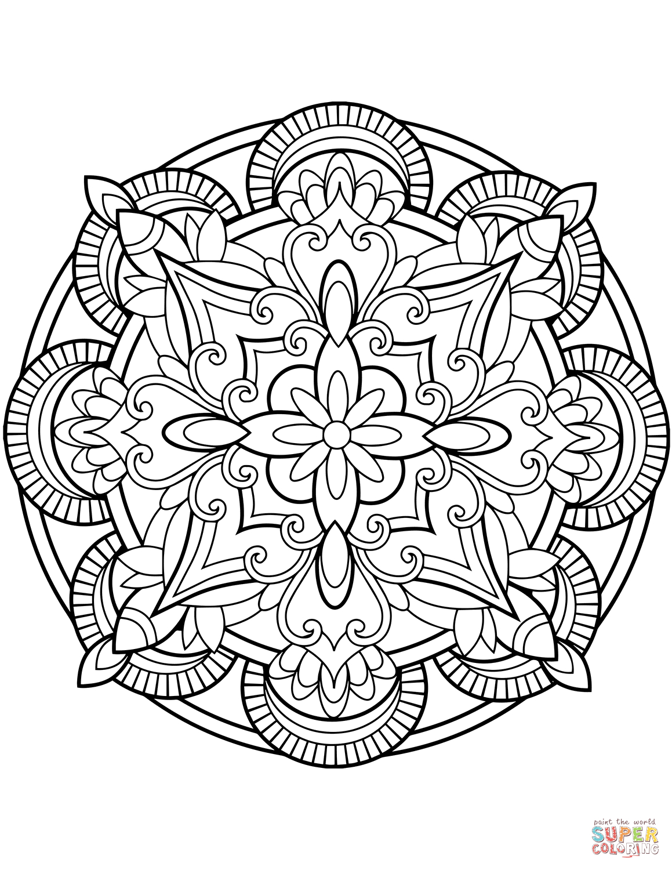 Mandalas Coloring Pages - Lezincnyc - Mandala Coloring Free Printable