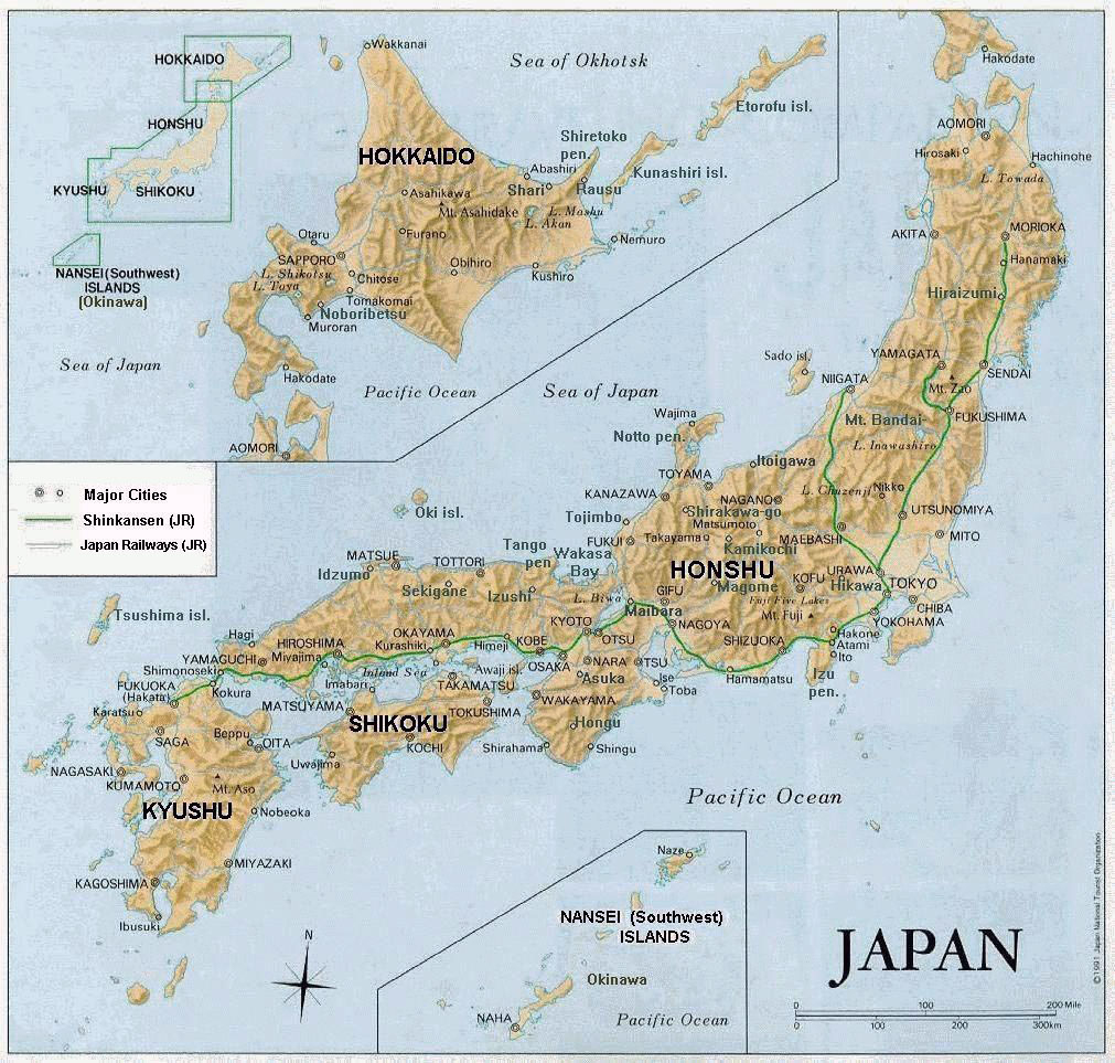 Maps Of Japan   Detailed Map Of Japan In English   Tourist Map Of - Free Printable Map Of Japan