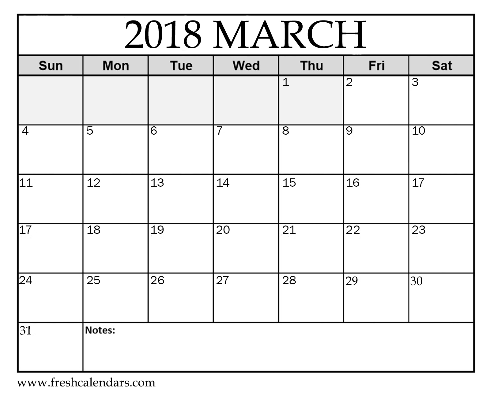 March 2018 Printable Calendars - Fresh Calendars - Free Printable March Activities