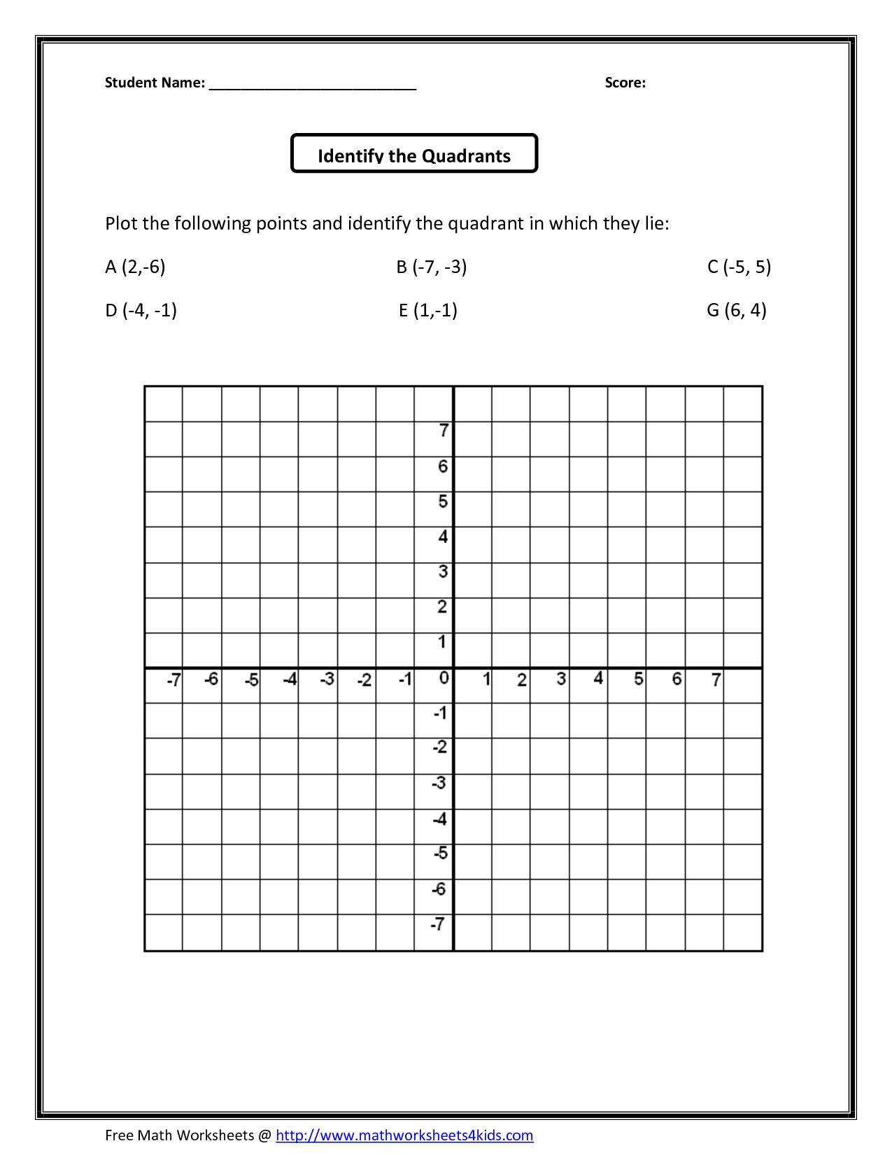 Math : Coordinate Plane Grid Coordinate Template 0 To 12 2 - Free Printable Coordinate Grid Worksheets