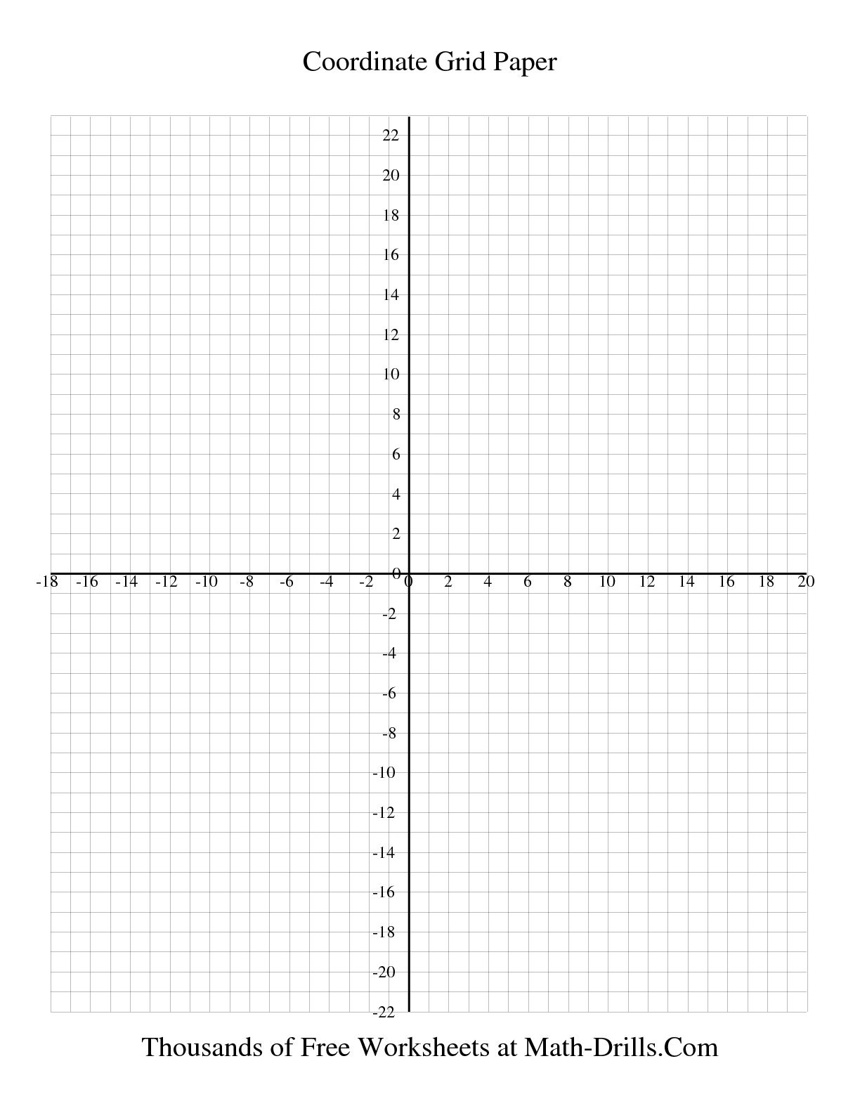 Math : Graph Paper With Coordinate Plane Interactivate Introduction - Free Printable Christmas Coordinate Graphing Worksheets