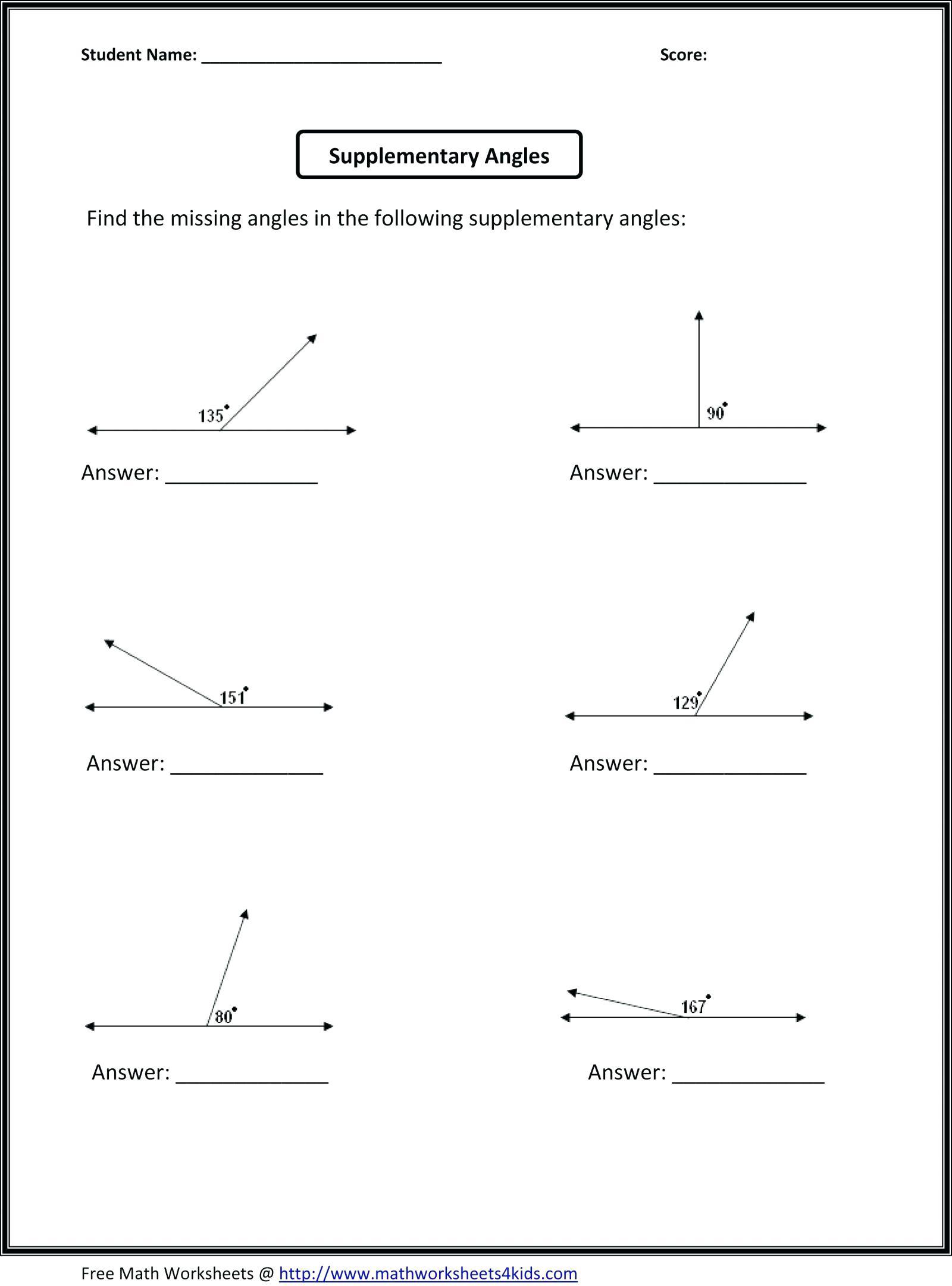 Math Worksheets For 6Th Graders Math Worksheets Grade Math - Free Printable Math Worksheets For 6Th Grade