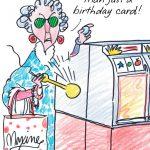 Maxine™ Postcard From Hawaii Funny Birthday Card – Greeting Cards – Free Printable Maxine Cartoons