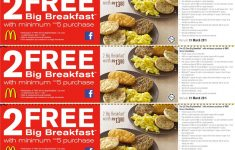 Free Printable Mcdonalds Coupons Online