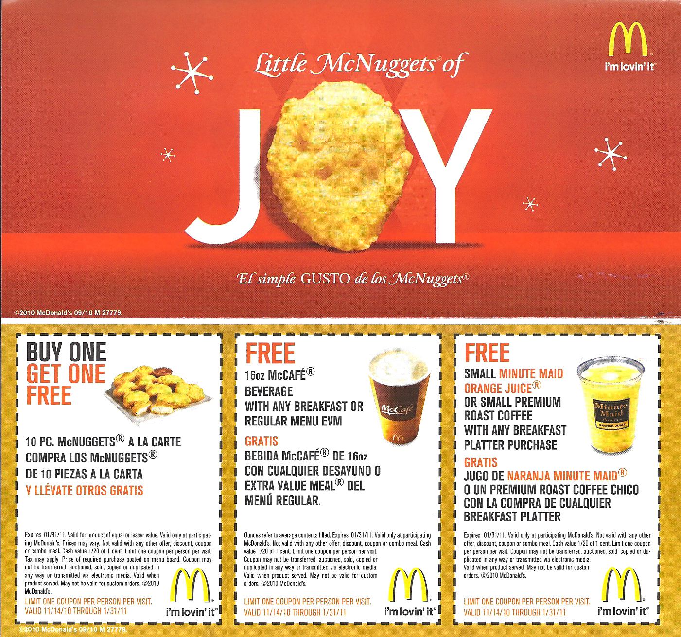 Mcdonalds Coupon Booklet Free (3) – Printable Coupons Online - Free Printable Mcdonalds Coupons Online