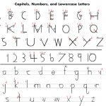 Mckenna, Mrs. / Handwriting Without Tears   Free Printable Left Handed Worksheets